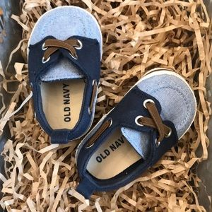 Baby boat shoes by Old Navy
